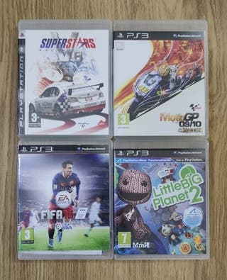 PS3 /Superstars/MotoGP/Little Big Planet 2/Fifa16