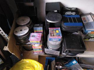 películas y canciones en CD,s