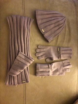 Conjunto bufanda, guantes y gorro ADIDAS