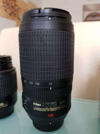 Objetivo Nikon AF-S VR 70-300mm f/4.5-5.6 G IF ED