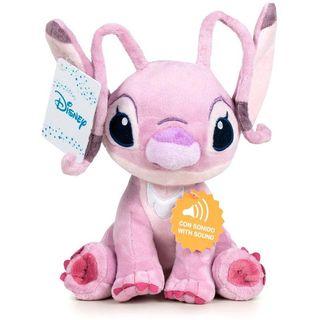 Peluche Angel Stitch Disney soft sonido 20cm