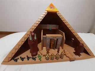 Playmobil - Faraones Pirámide (4240) SIN CAJA