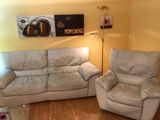 GANGA!! Sofa de 3 plazas y sillon