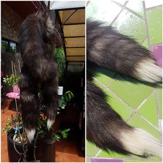 Cuello bufanda zorro argenté