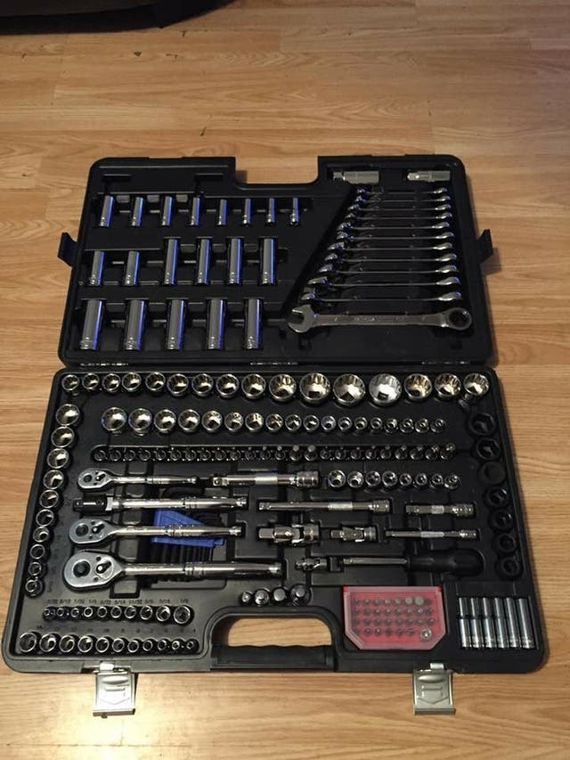halfords 200 peice tools