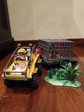 coche safari de Playmobil