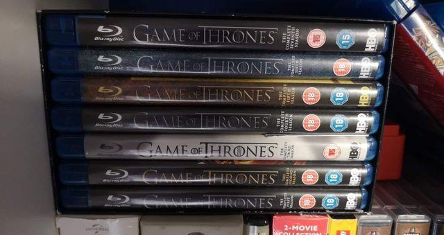 game of thrones blu Ray season 1-7
