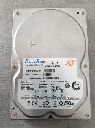 """Disco duro IDE 160 GB 3,5"""""""
