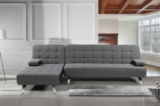 Sofá cama tela Chaise-Longue [AROA]