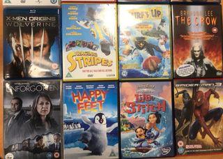 Películas en DVD en muy buen estado