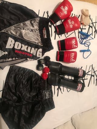Conjunto kick boxing