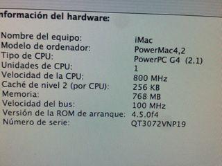 Ordenador iMac