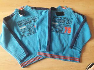 2 jerseys niño iguales