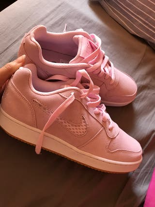 Zapatillas Nike sin estrenar rosa pastel