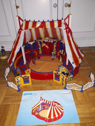 playmobil. Circus carpa 4230 + 2 complementos