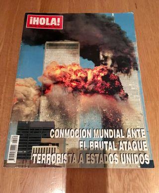 Revista hola ATENTADO TORRES GEMELAS.-