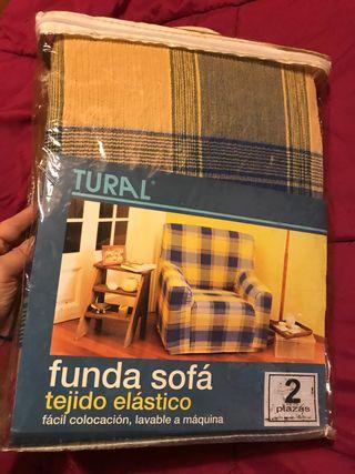Funda de sofá de 2 plazas