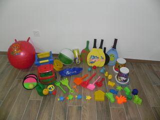 juguetes aire libre playa jardin
