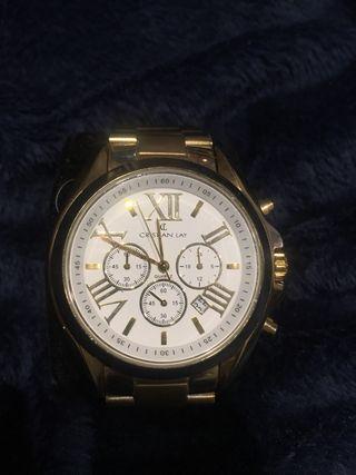 Reloj chapado en oro 18kt