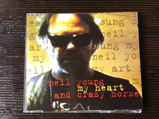 NEIL YOUNG AND CRAZY HORSE CD SINGLE MY HEART