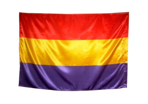 Bandera republicana 90cmx60cm nueva