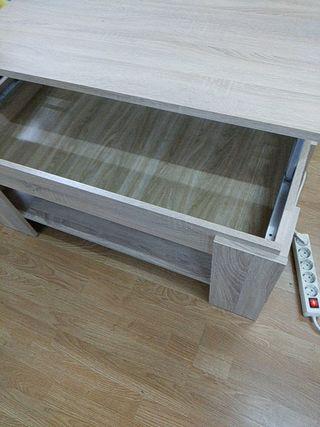 mesa con elevador nueva