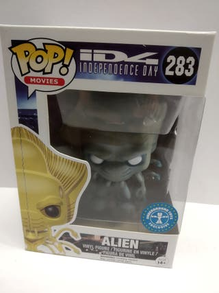Funko POP Independence Day - 283 Alien exclusivo.