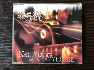 NEIL YOUNG AND CRAZY HORSE CD SINGLE PIECE OF CRAP