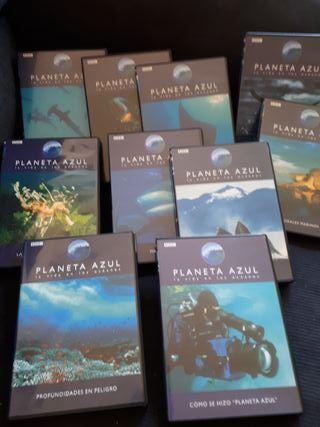 Planeta azul 10 DVD's