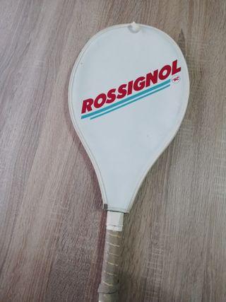 Raqueta tenis Rossignol vintage