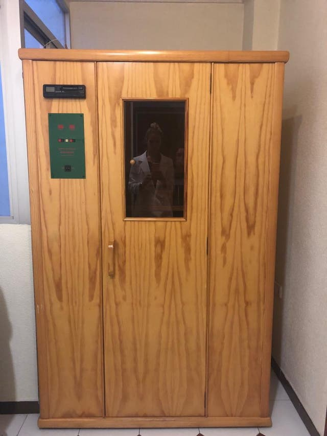 Sauna terapéutica Infraspa 2 plazas