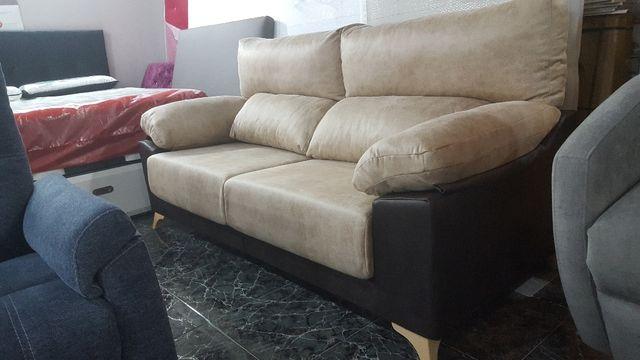 sofa de 3 plazas extensible y reclinable