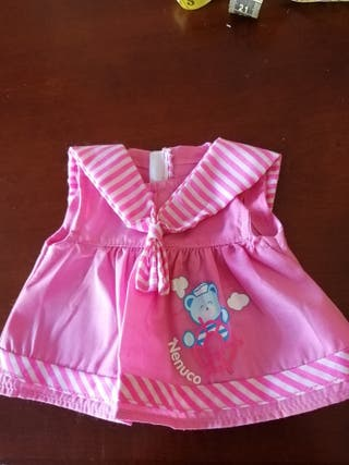 vestido para muñeca animator