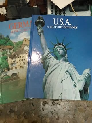 lote 8 libros países