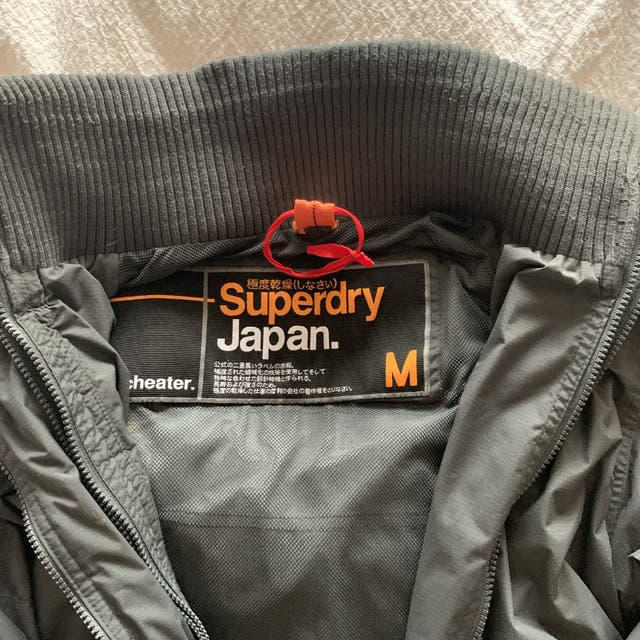 Superdry Grey Coat