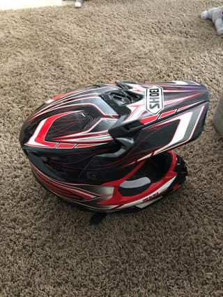 Casco motocross Shoei vfx