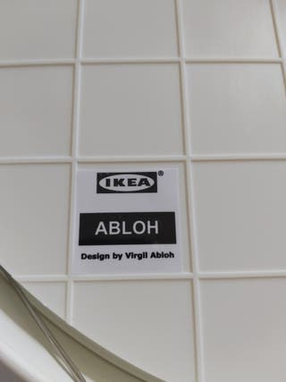 Reloj de pared IKEA X VIRGIL ABLOH (Off white)