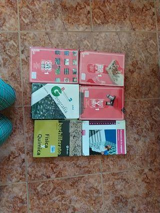Libros de Bachillerato.