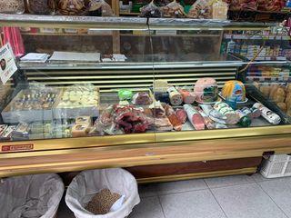 vitrina mostrador carnicería