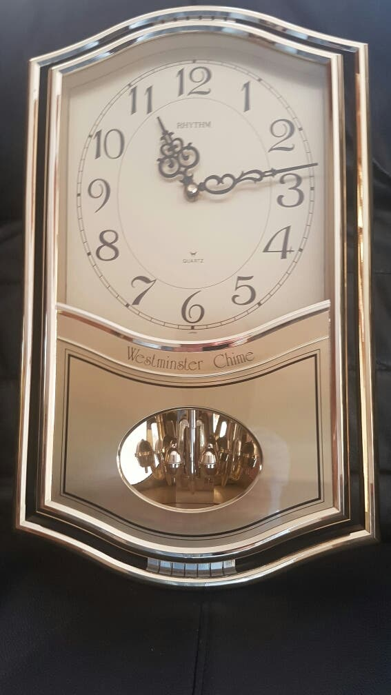 Reloj de pared Westminster Chime Quartz