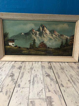 Antik oil painting