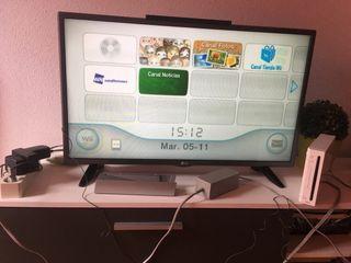 Wii + juegos y complementos(como nueva)
