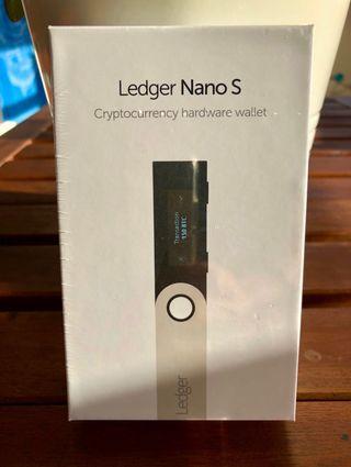 Ledger Nano S a estrenar
