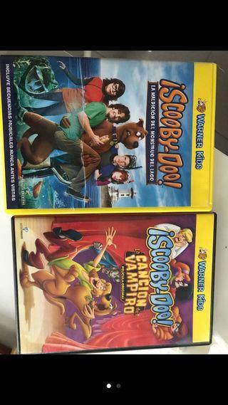 Lote 23 películas Scooby Doo