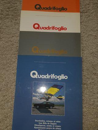 Revistas Il Quadrifoglio,Alfa Romeo.