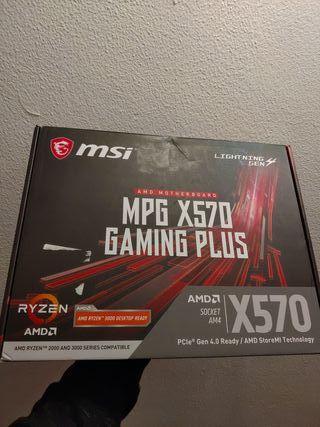 MSI MPG X570 GAMING PLUS Placa madre