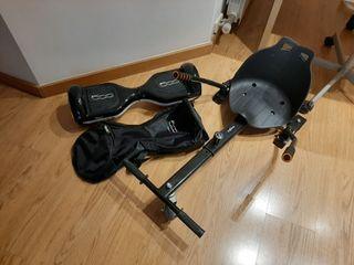 hoverboard Fiat 500 edición limitada