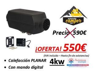 OFERTA!!! Calefacción PLANAR 4kw