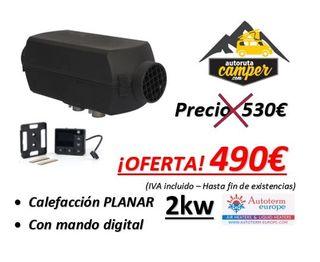 OFERTA!!! Calefacción PLANAR 2kw