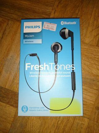 Auriculares Philips Bluetooth nuevos